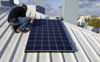 Painel solar fotovoltaico – Balanço do 1º ano (2017)
