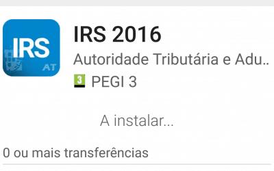 Finanças lançam app IRS 2016 para entregar e ver estado