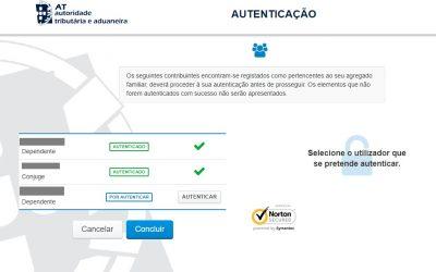 Como atualizar o agregado familiar no Portal das Finanças