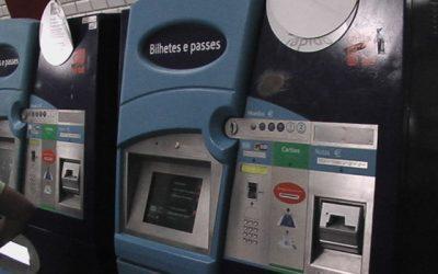 Metropolitano de Lisboa com NIF nos bilhetes