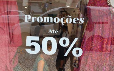 Comerciantes não vão poder aumentar os preços antes dos saldos e promoções