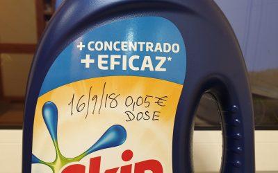 Ainda é possível comprar detergentes a 5 cêntimos a dose