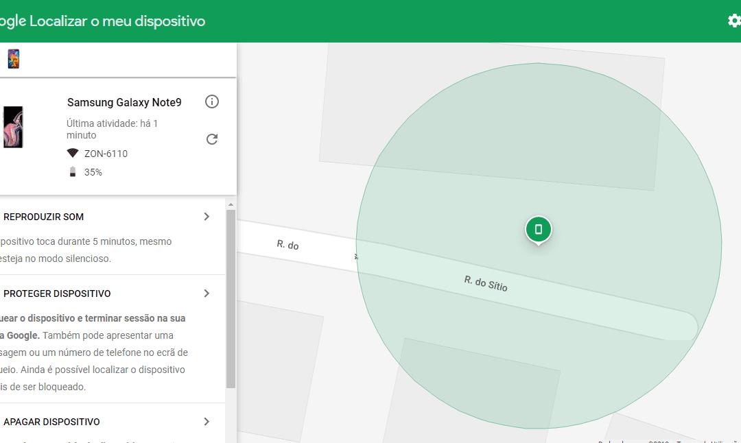 Como encontrar o seu telemóvel Android perdido ou roubado