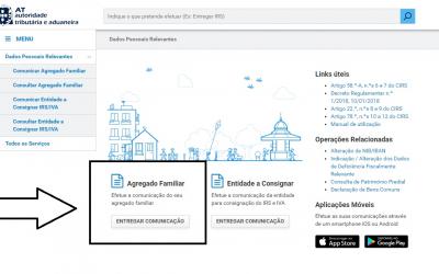 IRS 2020 – Já atualizou o seu agregado familiar no Portal das Finanças?