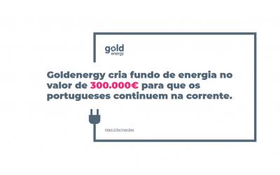 Goldenergy oferece 1 mês de eletricidade e gás grátis a quem perdeu rendimentos