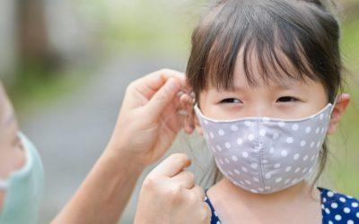 COVID-19 | Crianças com 10 anos obrigadas a usar máscara