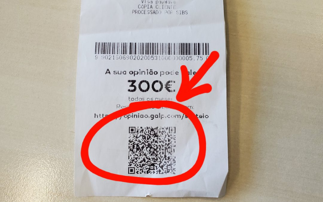 IRS | Vêm aí as faturas com QR Code e ATCUD (AT quê?!)