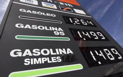 COMBUSTÍVEIS |  Imposto desce hoje 2 cêntimos na gasolina e 1 cêntimo no gasóleo