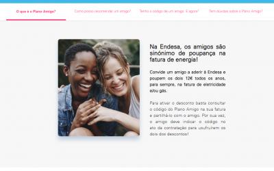 """Endesa limita """"códigos amigo"""" a desconto de 25 euros por mês"""