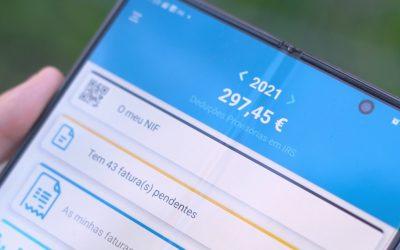 IRS | Como corrigir e validar as faturas no e-fatura no telemóvel