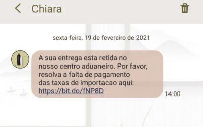 ALERTA | Fisco avisa para SMS enviados por falsos centros aduaneiros