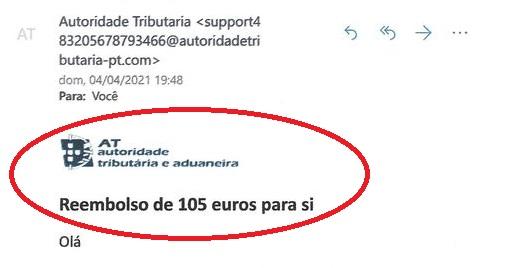 FRAUDE | Fisco alerta para e-mails falsos sobre reembolsos do IRS