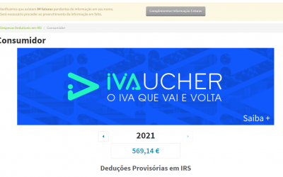 Contribuintes com atividade aberta podem validar faturas para IVAucher até hoje